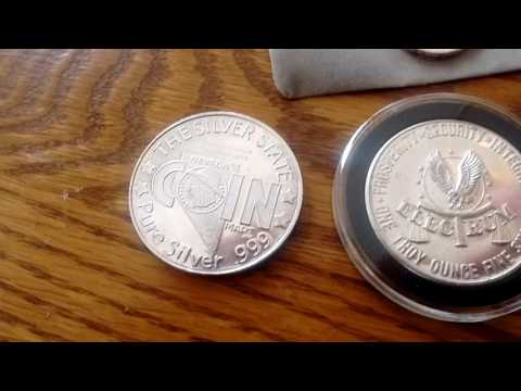 Recent silver bullion additions, pick ups. Silver bars, coins, rounds.. Australian gold nugget proof