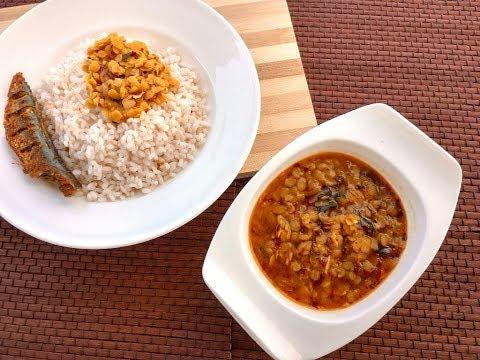 Parippu KuthiKachiyathu/  Parippu Curry/തൃശൂർ സ്റ്റൈൽ പരിപ്പ് കുത്തികാച്ചിയത് ||