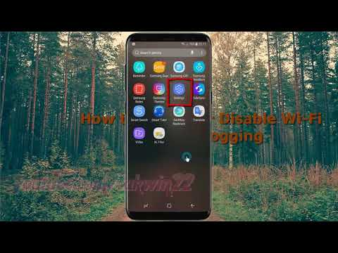 Android Nougat : How to Enable or Disable Wi Fi verbose logging in Samsung Galaxy S8 or S8+