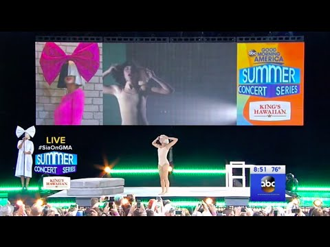 Sia - Chandelier - Live on Good Morning America - July 22,2016