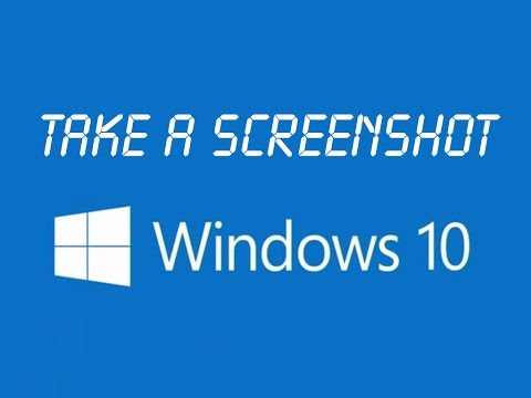 How to take a screenshot in Windows 10 (Print Screen & Paint + Snipping Tool)