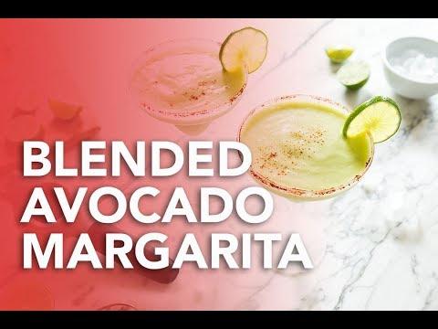 Blended Avocado Margarita