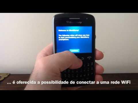 BlackBerry Curve 9360 - Setup inicial