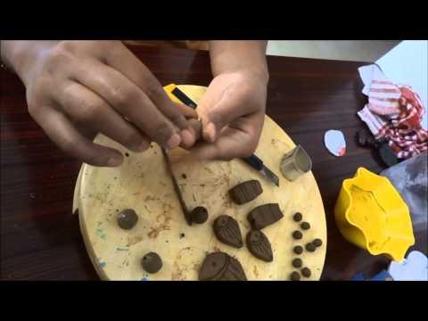 Terracotta Jewellery Making Part 1