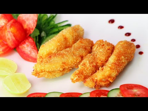Finger Fish Recipe - Resturant Style Fish Finger By SooeprChef
