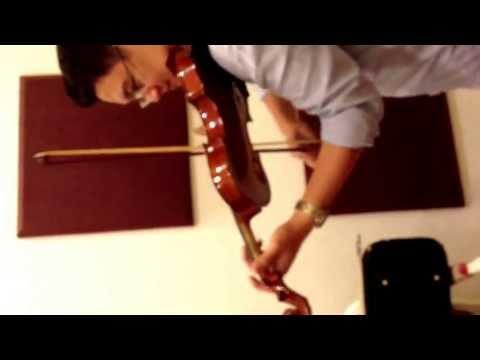 Violin -Tied to Notes