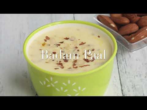 பாதாம் பால் | Badam Milk | Almond Payasam