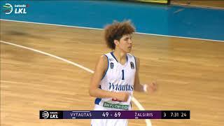 LaMelo hits FOUR 3-pointers in a row against Zalgiris Kaunas