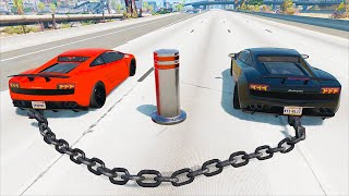 Epic High Speed Crashes #2 - BeamNG.Drive ( Realistic Car Crashes )
