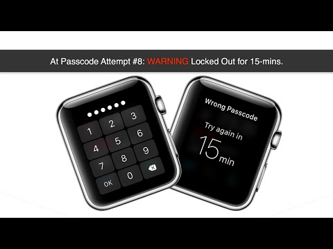 Entering Wrong Passcode 10 Times on Apple Watch OS
