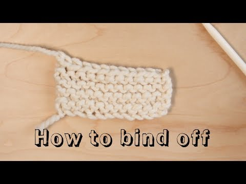 How to Bind Off - Learn to Knit
