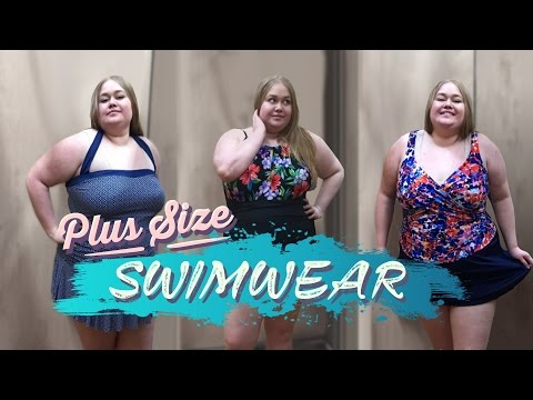 ac49127e4d3 Inside The Dressing Room   Change Room Walmart Clothing Plus Size Fashion  Swim Wear Haul