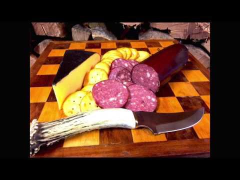 Venison Summer Sausage - Garlic & Pepper Jack - Homemade