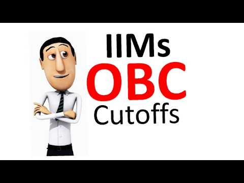 All 20 IIM Cutoffs for OBC category compilation