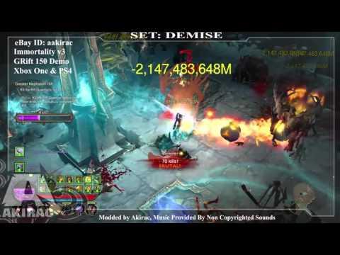 Ps4 Diablo 3 Mods Xbox One - Immortality V3 Demise GRIFT 150  - http://www.akirac.com