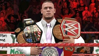 WWE 2K17 Story - John Cena Wants All The Belts - Ep.4