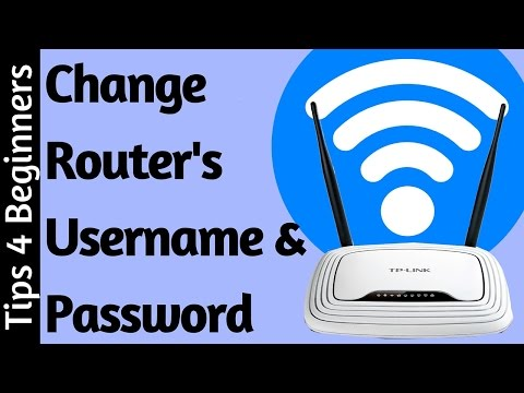 how to change your router username and password on Login | TP-Link  Router Settings | WiFi Tricks