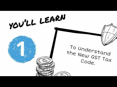 Latest GST Tax Code Mapping