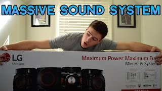 LG 700W Mini Shelf System Unboxing and Review | SETUP GEAR