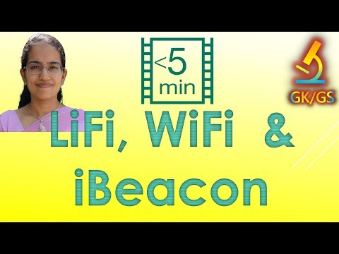 Lifi, Wifi & ibeacon - Knowing the 3 Terminology (Science & Technology)