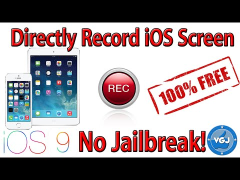 Record Your iPhone or iPad Screen For Free Without Jailbreak (iOS 10, 9)
