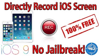 Record Your Iphone Or Ipad Screen For Free Without Jailbreak Ios 10 9
