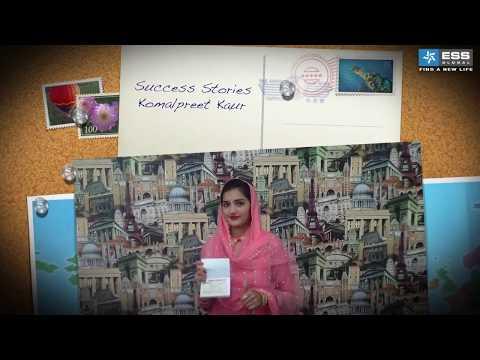 Success Stories - Komalpreet Kaur - Canada Student Visa