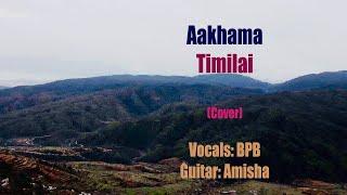 Aakhama Timilai   Nabin K Bhattarai   Cover   Bed Prakash Bhatta   Amisha   amybpb