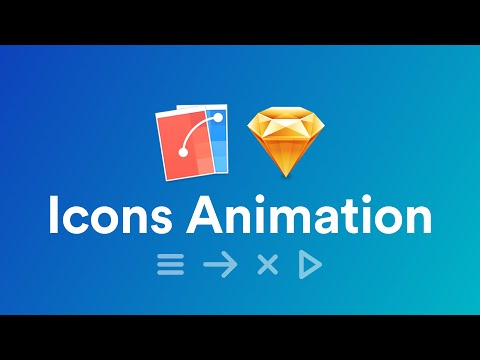 Icons Animations Using Flinto