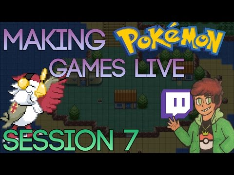 Making A Pokemon Game Live (Tidal Session 7)