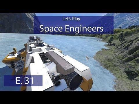 Military Drydock - Ep. 31 - Begin Repairs! - Let's Play Space Engineers