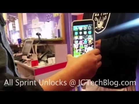 How to Unlock Sprint iPhone 6/6+/6s/6s+ for Domestic and international CARRIER