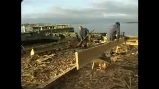 viking ship building