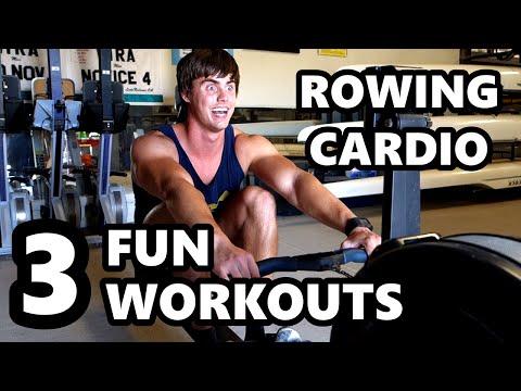 Rowing Cardio: FUN WORKOUTS!