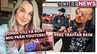 JONNA VILL FÅ BORT MIG FRÅN YT #Clueenews MÖTET MELLAN RASK OCH VERZ SLUTAR I KATASTROF!