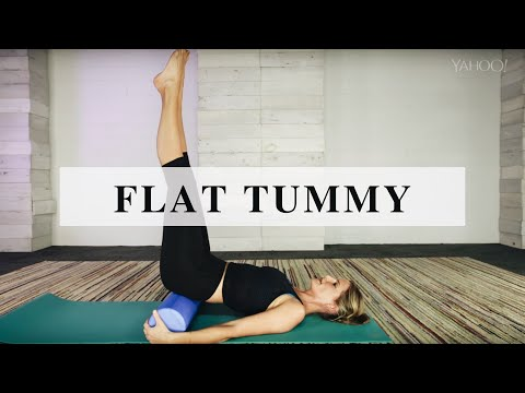 Fitness Hack: Foam Rolling for a Flat Tummy