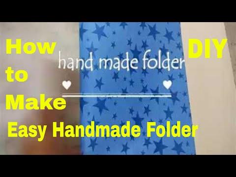 handmade folder// how to make handmade folder at home (very easiest way)