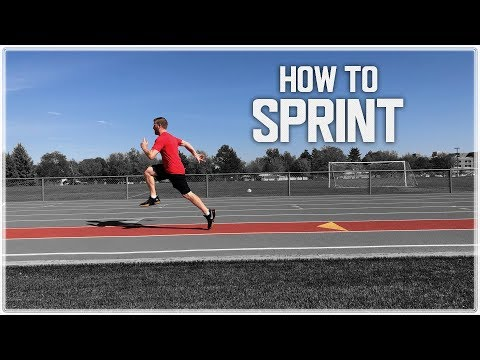 How To Increase Your SPRINTING SPEED! | RUN FASTER! - (Top Speed Sprint Mechanics)