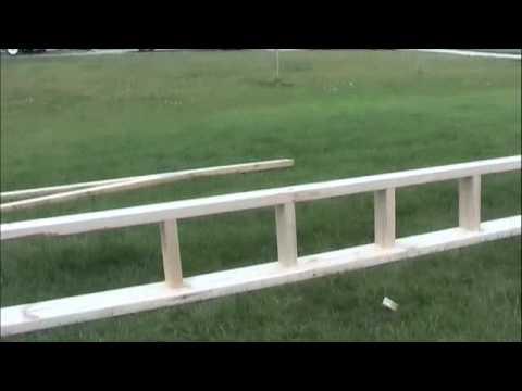 End Truss Ladder Construction