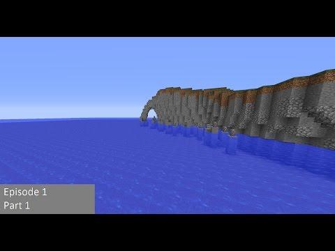 Minecraft Island Build Part 1