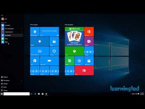 Windows 10 Tips & Tricks - How to Make Start Menu Full Screen
