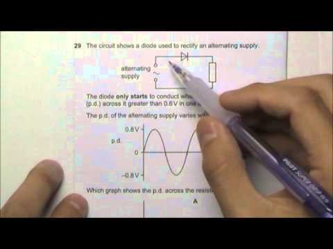 2010 O' Level Physics 5058 Paper 1 Solution Qn 26 to 30