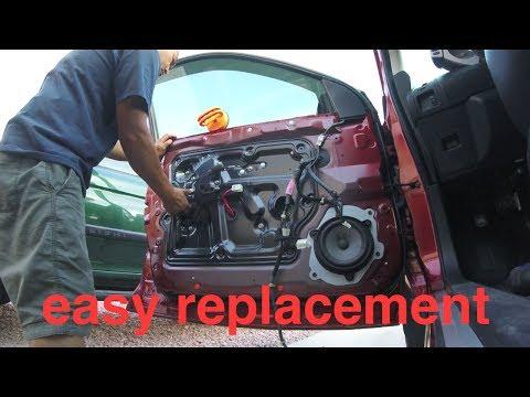 [JUST FOLLOW] Nissan Murano Window Motor Regulator REPLACEMENT√ fix it angel