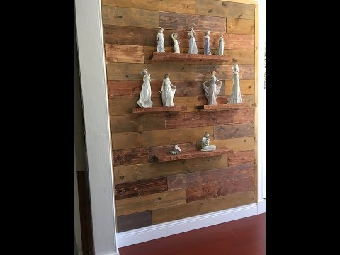 How to use Stain to Create  Reclaimed Wood Design