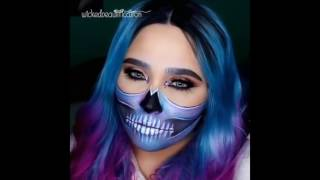 Halloween Makeup Devil And Angel.Playtube Pk Ultimate Video Sharing Website