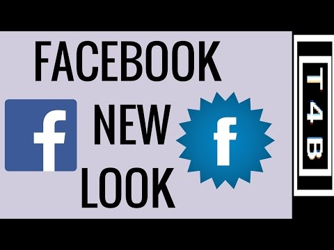 Facebook New Look FACEBOOK FLAT UI : HOW TO Change Facebook look theme #Facebook tips tricks