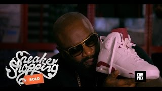 Rick Ross goes Sneaker Shopping with Complex