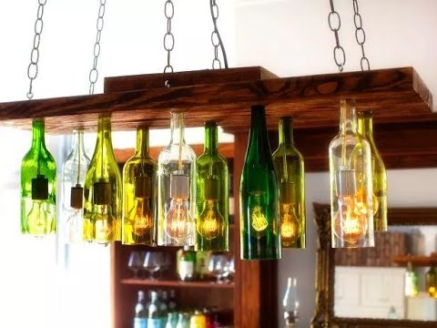 Things That You Can Do With Old Wine Bottles