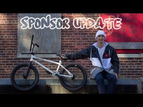 THE NEW BMX BIKE BUILD *SPONSOR UPDATE*
