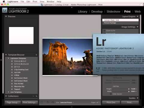 Lightroom 2: Installing and Using ICC profiles for specific paper and prints